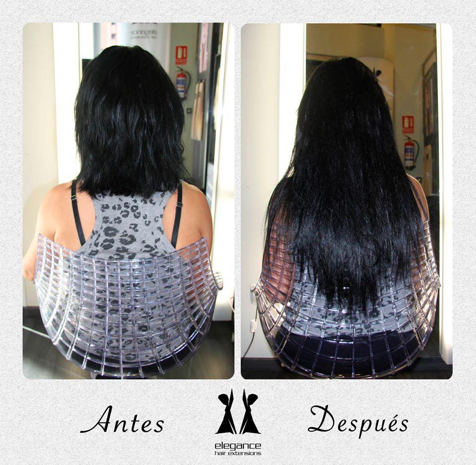 extensiones en pelo corto