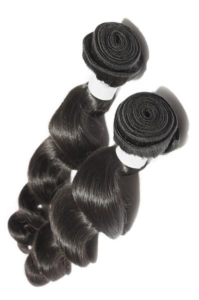 extensiones de pelo virgen brasileño ondulado
