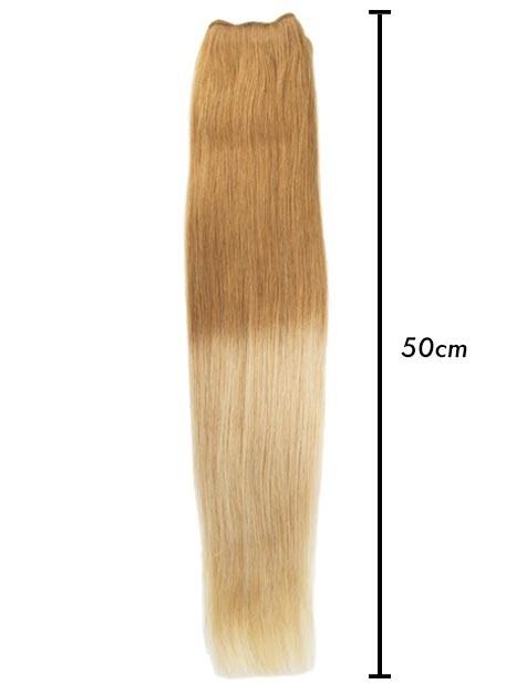 extensiones californianas rubias 50 cm