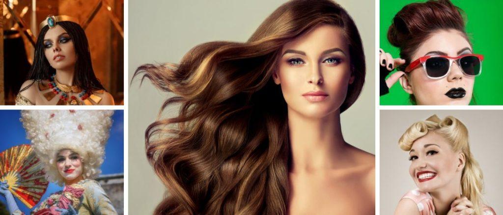 historia de las extensiones de pelo