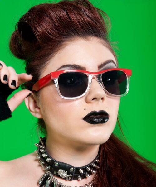 peinados punk rock 80s